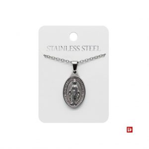 Halskette - Our Lady Immaculate Stainless JS-NS090 - Schmuck>Halskette
